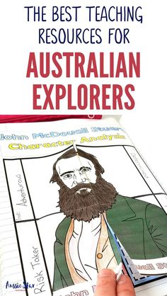 This outstanding range of Australian Explorers Teaching Resources are aligned with the Australian Curriculum and have been designed for your Year 5 HASS Australian History lessons. The activities in these resources are fun, hands-on and interactive and co National Curriculum, Homeschool Curriculum, Homeschooling Resources, Teaching Resources, Primary Teaching, Primary Classroom, Classroom Activities, Research Skills, Inspired Learning