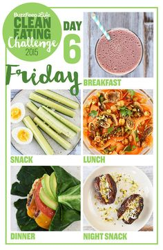Day 6 Of The 2015 Clean Eating Challenge