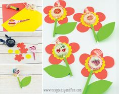 Sweet Lollipop Flowers - Easy Peasy and Fun Flower Crafts, Easy Peasy, Teacher Gifts, Bouquet, Special People, Sweet, Flowers, Fun, Rainbows