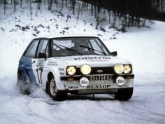 1979- A Debut for the Fiesta in the Monte Carlo Rally and 10th place.