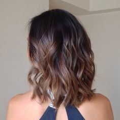 Sombré hair More