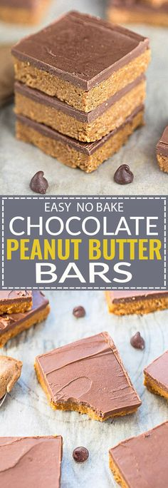 This recipe for No-Bake Reese's Chocolate Peanut Butter Bars is the perfect easy sweet treat. Best of all, made with only 5 Ingredients, less than 20 minutes of prep & no oven required! Tastes even better than a Reese's peanut butter cup with simple pantr