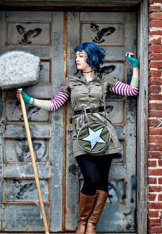 Ramona Flowers (Scott Pilgrim vs the World) cosplay