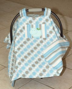 Baby Car Seat Cover by Debsflorals on Etsy, $32.99