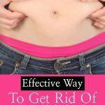 Effective Way to Get rid of White Fat Around the Abdomen