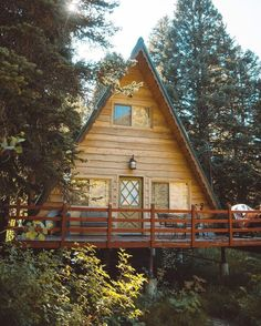 Cedar A-Frame - By Forrest Smith