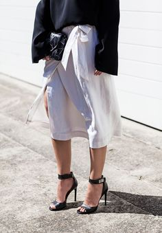 The Midi Skirt: My 3 Simple Styling Tips