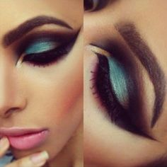 Find images and videos about makeup, eyes and make up on We Heart It - the app to get lost in what you love. Eye Makeup, Makeup Brushes, Makeup Tips, Hair Makeup, Makeup Ideas, Glam Makeup, Dramatic Makeup, Dramatic Eyes, Painted Ladies