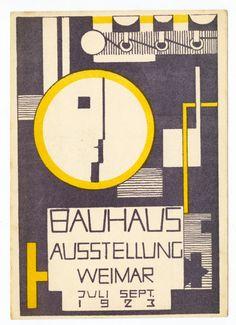 1926  BAUHAUS AUSTRIAN ART EXHIBITION AUSSTELLUNG A3 POSTER RE PRINT