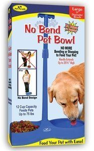 No Bend Pet Bowl Large 9 Diameter ** Details can be found by clicking on the affiliate link Amazon.com.