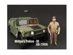 WWII Military Police Figure III For 1:18 Scale Models by American Diorama - Brand New WWII Military Police Figure III For 1:18 Scale Models by American Diorama. Packed in a blister pack. Only one figure will be received. Each standing figure is approximately 4 inches tall.-Weight: 1. Height: 5. Width: 9. Box Weight: 1. Box Width: 9. Box Height: 5. Box Depth: 5