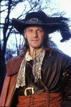 Sean Bean is a pirate! Not really, but a rather violent character - in Lorna Doone (1990). #perioddrama #17thcentury