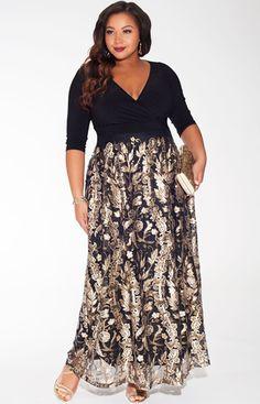 IGIGI Tora Plus Size Gown #plussize #plussizedresses