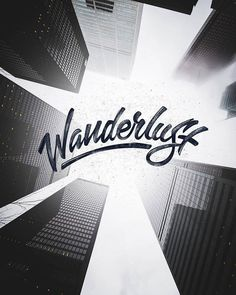 Creative Typography, Wanderlust, Cam, and Harapiak image ideas & inspiration on Designspiration Creative Typography, Typography Quotes, Typography Letters, Types Of Lettering, Brush Lettering, Lettering Design, Brush Script, Sans Serif, Banners