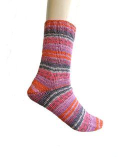 Sokken paars/roze Meilenweit katoen maat 39/40 door Carolinevantveer