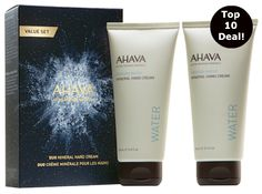 AHAVA Double Mineral Hand Cream...one of my Top 10 #BlackFriday Deals (Pin & save!)