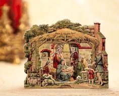 Chimney Nativity - PaperModelKiosk.com