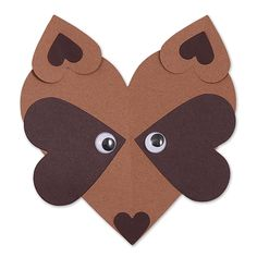 Well, isn't this just a foxy craft. Create a fox valentine with the Hearts die for a classroom craft your students will enjoy! Valentine Crafts For Kids, Valentines Art, Valentines For Boys, Valentine's Day Crafts For Kids, Animal Crafts For Kids, Toddler Crafts, Classroom Crafts, Preschool Crafts, Fox Crafts