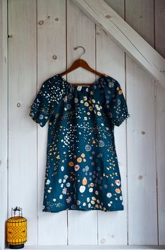 nani iro double gauze fabric, built by wendy / simplicity 3835 pattern (found via @Melissa De La Fuente)