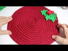 Mantel Individual a Crochet / Decoración Navidad ¡ Christmas ! I cucaditasdesaluta - YouTube