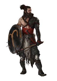 DnD Class inspiration dump: Barbarians and wild men - Imgur