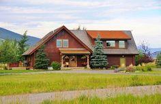 Taunya Fagan Gallatin Gateway Montana #LogHomes. http://www.taunyafagan.com/