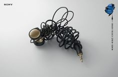 Clever Sony Ads Liken Tangled Headphones To Mosquitoes - via @designtaxi & Cerebro Y&R Panama