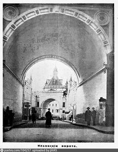Фотография - Третьяковский проезд - снимок сделан в 1926 году (направление съемки — северо-запад)
