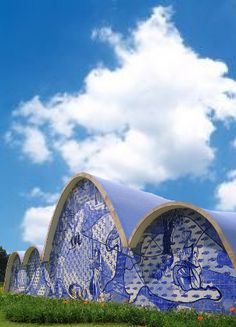Igreja da Pampulha em Belo Horizonte, Brazil