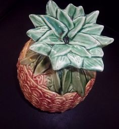McCoy Pineapple Cookie Jar by energyforthesoul on Etsy
