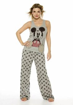 Disney PJs would so wear this :)