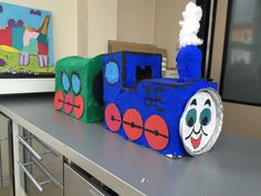 Train theme#trein#knutselen#crafts