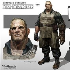 Arkane Studios, Character Concept, Concept Art, Character Design, Character Ideas, Take Two Interactive, Digital Portrait, Digital Art, Dios