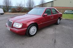 1994 Mercedes E Class E200 49,000 miles - ONE OWNER at Woldside Classic and Sports Car in Louth, Lincolnshire, UK.