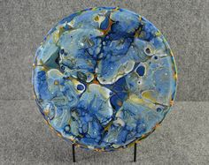 Splash Glass bowl 42 by ArtGlassbyLisa on Etsy