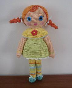 Amigurumi Girl Doll - FREE Crochet Pattern / Tutorial