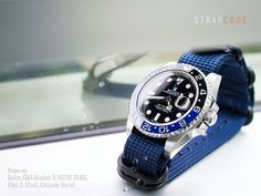 Get to know the MiLTAT straps on Rolex GMT-Master II 116710 BLNR