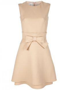 Valentino Wool Silk Gabardine Dress
