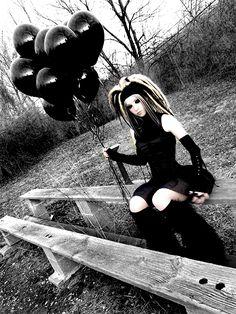 model: triplesix #Cybergoth girl