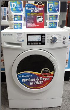 Portable washer and dryer