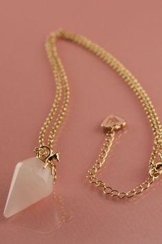 Wildfox Blue Pendant Necklace
