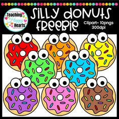 Free Donuts Clipart