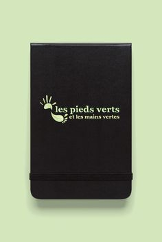 Création logo: Les pieds verts Creations, Graphic Design, Wallet, Logo Creation, Handmade Purses, Diy Wallet, Purses