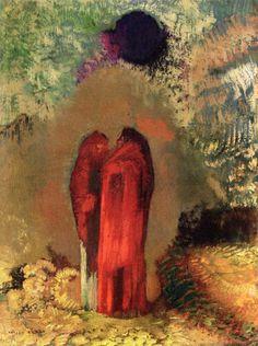 Silence / black sun - Odilon Redon
