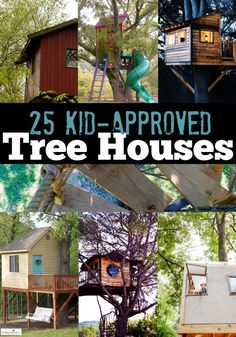 We adore these 25 extreme tree houses for kids. In fact, we wish they were all in our backyard! Outdoor Fun, Outdoor Spaces, Outdoor Living, Outdoor Decor, Cubby Houses, Play Houses, Trailer Casa, Cool Tree Houses, Backyard For Kids