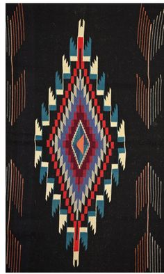 Etsy の Vintage Chimayo blanket by SoulCompassML