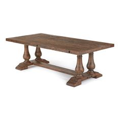 Shop Hip Vintage  Distressed Wood Table at The Mine. Browse our dining tables, all with free shipping and best price guaranteed.