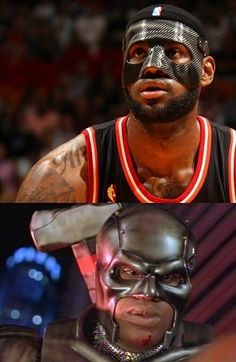 This was all I could think about last night when I saw LeBron James mask #funny #night #lebron #james #mask #humor #comedy #lol