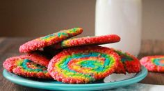Rainbow Swirl Sugar Cookies