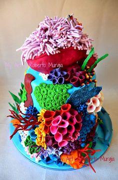 1 million+ Stunning Free Images to Use Anywhere Fondant Figures, Dory Cake, Decors Pate A Sucre, Ocean Cakes, Shark Cake, Yogurt Cake, Mermaid Cakes, Disney Cakes, Sugar Craft